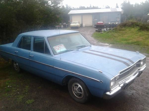 1968 Dodge Dart 4 Door For Sale in Mendocino, CA