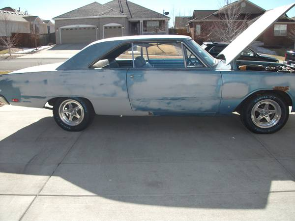 1969 Dodge Dart 2 Door For Sale In Denver Co