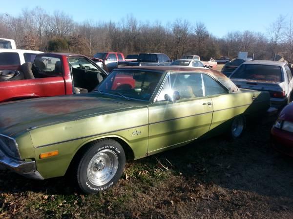 1972 Dodge Dart 2 Door Coupe For Sale in Watts, OK