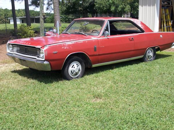 1967 dodge dart 2 door coupe for sale in wendell  nc