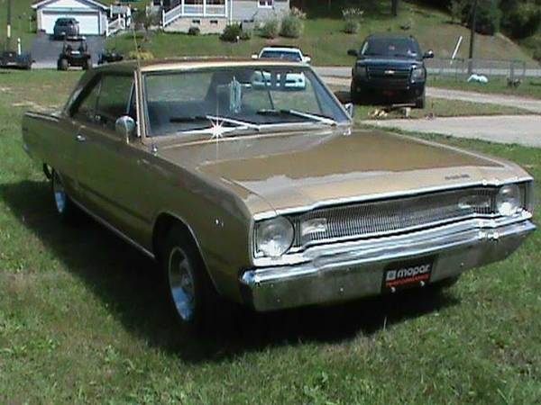 1967 Dodge Dart 2 Door Coupe For Sale in Greenville, SC
