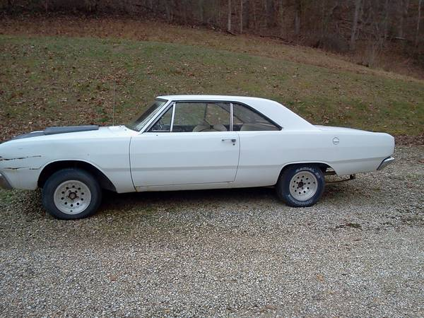 1967 dodge dart 2 door for sale in huntington wv. Black Bedroom Furniture Sets. Home Design Ideas