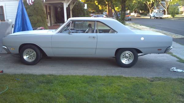 1969 dodge dart 2 door sedan for sale in medford or. Black Bedroom Furniture Sets. Home Design Ideas