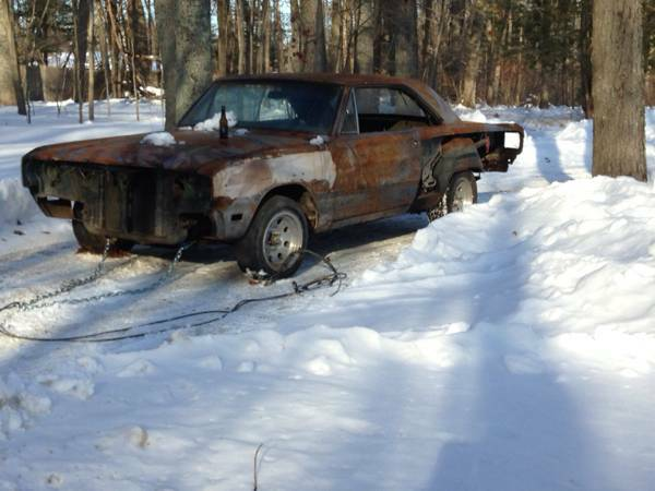 Craigslist Cars Ri: 1969 Dodge Dart 2 Door For Sale In Mansfield, RI