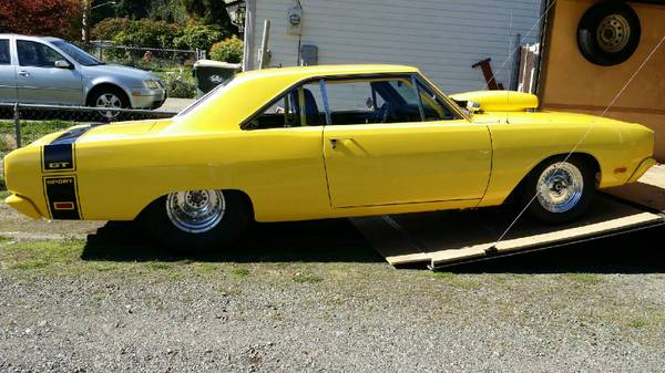1969 Dodge Dart 2 Door Pro Street For Sale In Olympia Wa