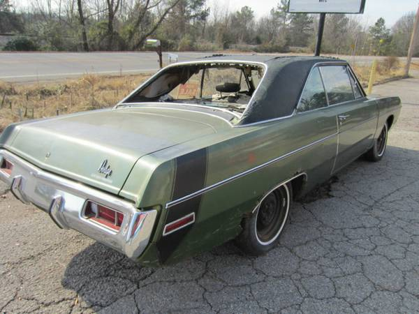 Minco Ok Back in addition Rogers Ar Backinside together with  on 1970 71 dodge dart swinger parts for sale in rogers arkansas