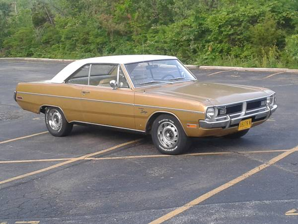 1971 dodge dart 2 door swinger for sale in cincinnati oh. Black Bedroom Furniture Sets. Home Design Ideas