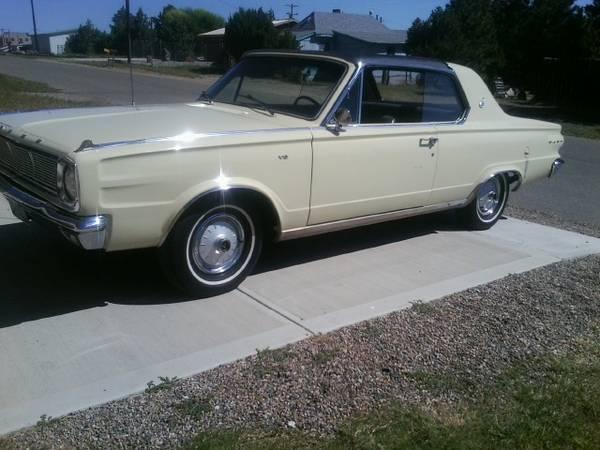 1966 Dodge Dart 2 Door GT For Sale in Denver, CO