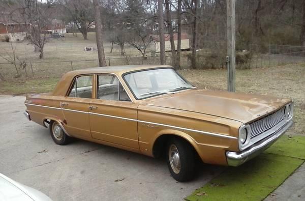 1966 Dodge Dart 4 Door For Sale in Nashville, TN