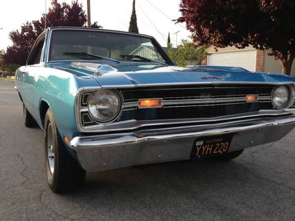 1969 Dodge Dart 2 Door For Sale in Fremont, CA