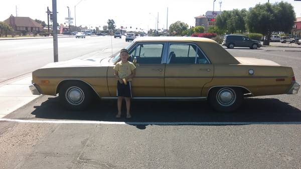 1975 Dodge Dart 4 Door Sedan For Sale in Yuma, AZ