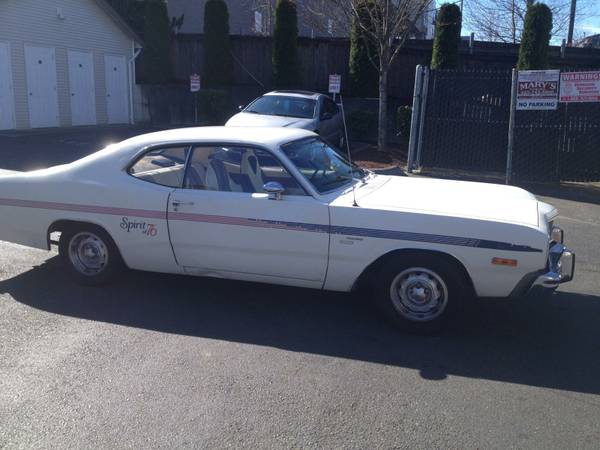 1976 Dodge Dart 2 Door For Sale in Seattle, WA
