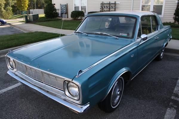 1966 Dodge Dart 2 Door Coupe For Sale in Lexington Park, MD