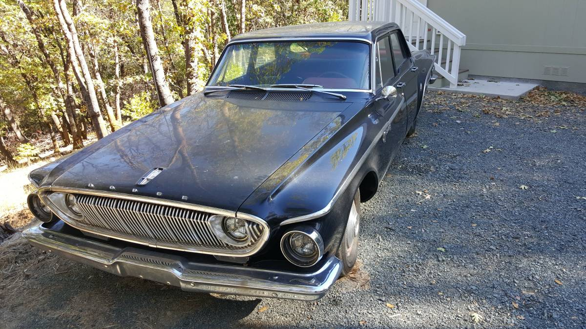 1962 Dodge Dart 4 Door For Sale In Sacramento Ca