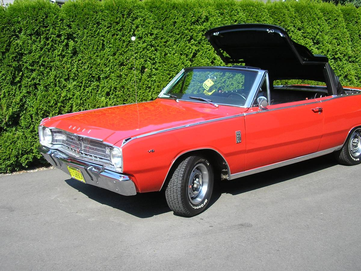 Craigslist Mohave County Az >> 1967 Dodge Dart GT Convertible V8 For Sale in Parker, Arizona