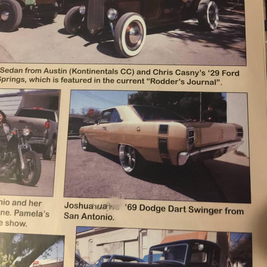 1969 Dodge Dart Rebuilt 360 For Sale In San Antonio, Texas