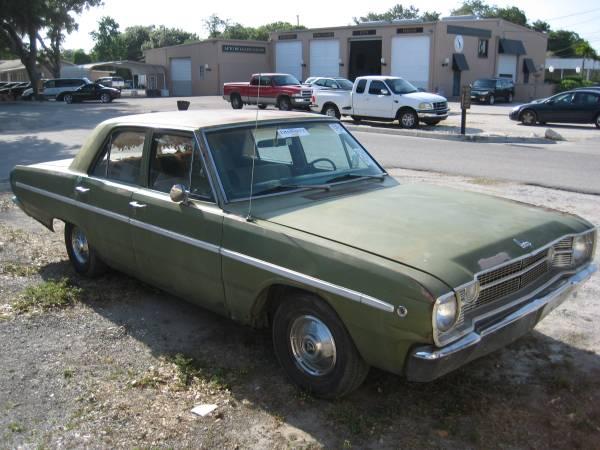 1968 Dodge Dart 4 Door Sedan For Sale in Tampa, FL