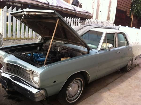1973 Dodge Dart 4 Door For Sale in San Diego, CA