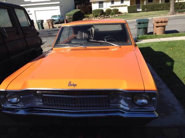 1968 Dodge Dart 2 Door For Sale in Ojai, CA