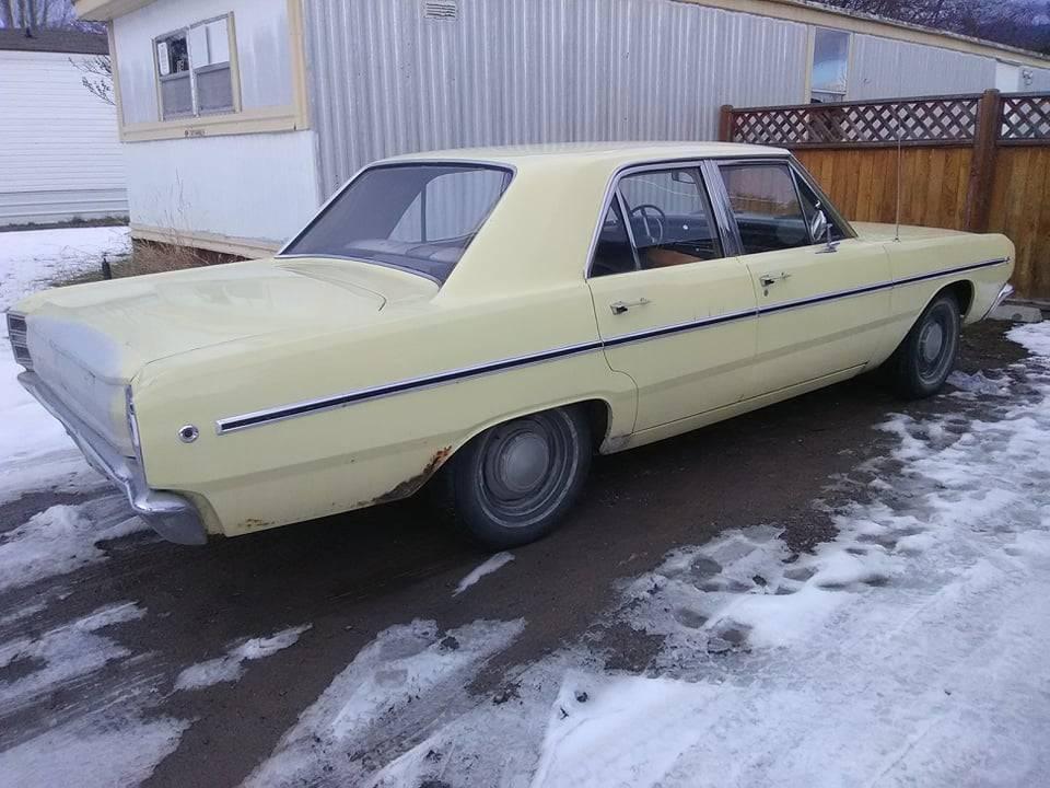 1968 Dodge Dart 4DR 170 225 Slant 6 Auto For Sale in ...