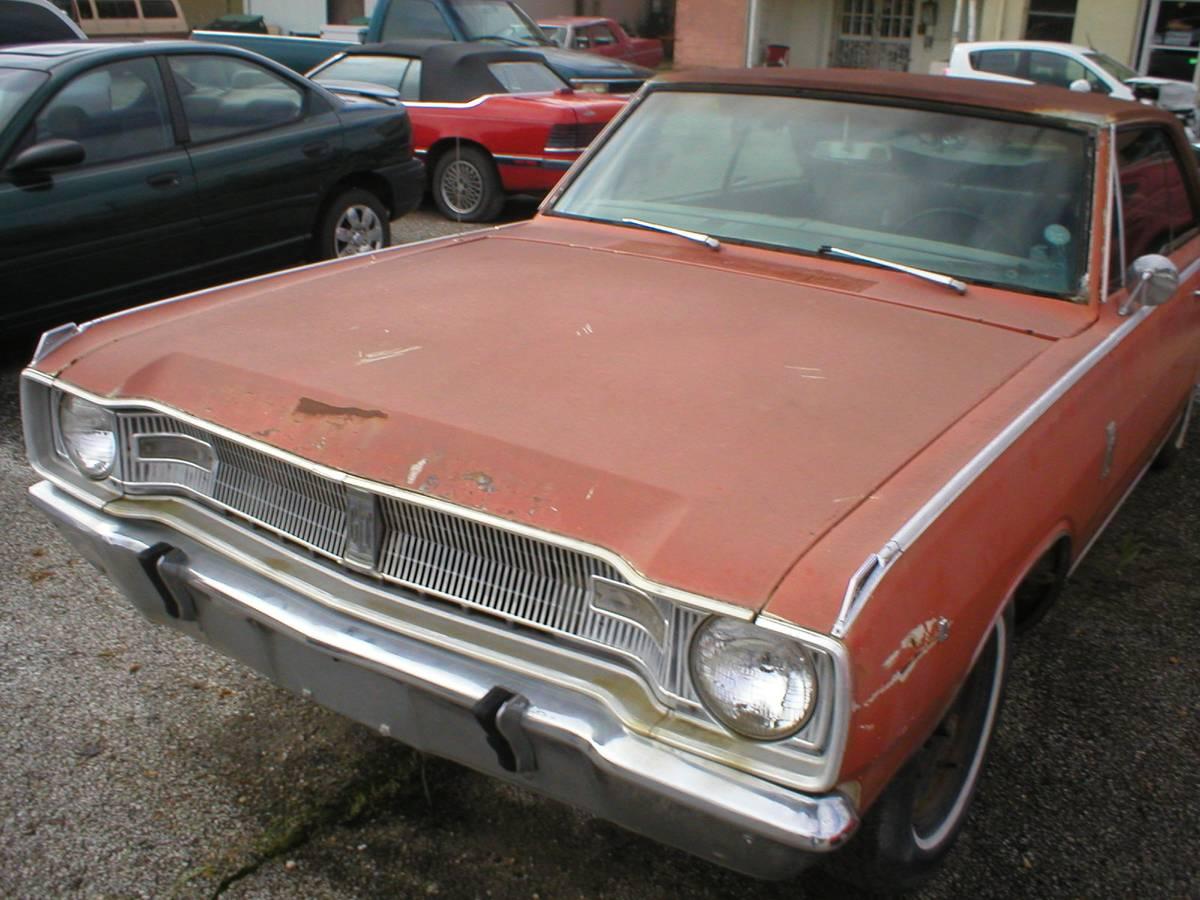 1967 Dodge Dart Two Door Hardtop For Sale in Denison, TX